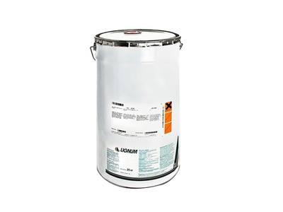 LIGNUM 2600-25 ПУ-лак белый, полуматовый, н.у.-25кг Изображение