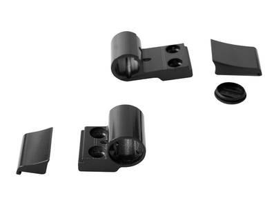 Петля для компланарных дверей Domina Classic (2-х секц., М/О=62.5 мм, черный) Изображение 2