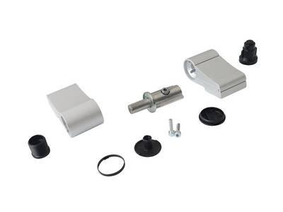 Петля Domina Classic 2-х секц анодированная, без крепления, межосевое 92 мм Изображение 9
