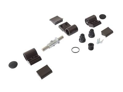 Петля Domina Classic 3-х секционная, коричневая, без крепления, межосевое 62,5 мм Изображение