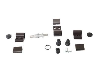 Петля Domina Classic 3-х секционная, коричневая, без крепления, межосевое 62,5 мм Изображение 3