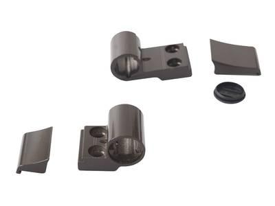 Петля DOMINA Classic дверная Giesse 2-х секционная, без крепления, м/о 62,5 мм, коричневая RAL8019, 06170640 Изображение 2