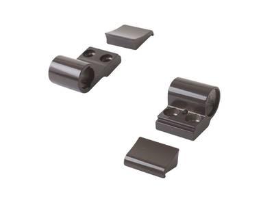 Петля Domina Classic 2-х секционная коричневая, без крепления, межосевое 62,5 мм Изображение 3