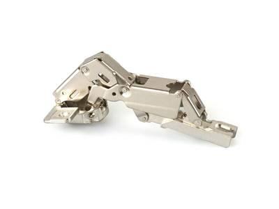 Петля Firmax для накладных дверей Slide-on, угол открывания 165°, 48 мм, шуруп, сталь Изображение