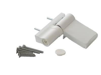 Петля Maxbar KT-N наплав 15-20 мм белая Изображение 3