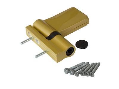 Петля Maxbar KT-V наплав 15-20мм, золото матовое Изображение 3