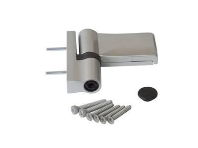 Петля Maxbar KT-V наплав 15-20мм, серебро Изображение