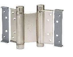 Петля барная 100 мм. для деревянных дверей до 34 кг., никель Изображение