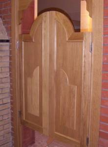 Петля барная 100 мм. для деревянных дверей до 34 кг., никель Изображение 2