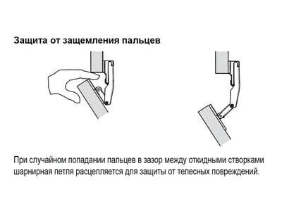 Петля центральная для Huwilift Fold / Senso / Free Fold Изображение 3