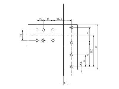 Петля дверная Roto Solid 150 P (110 кг), 17-20,5 мм, Коричневый Изображение 5