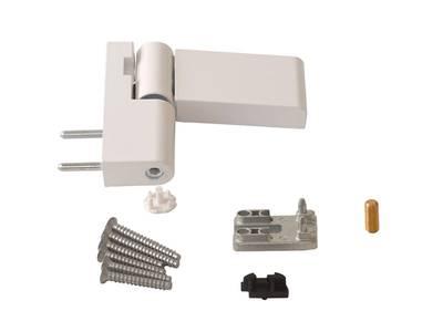 Петля дверная Roto Solid 150 P (110 кг), 17-20,5 мм, белый Изображение