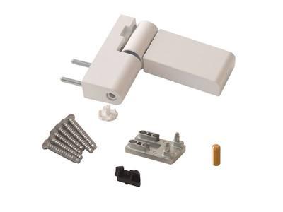 Петля дверная Roto Solid 150 P (110 кг), 17-20,5 мм, белый Изображение 2