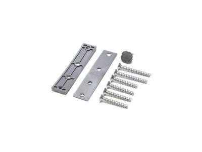 Петля дверная AT23 для дверей массой до 80 кг с высотой наплава 16.5-20 (24.5) мм цвет Серебристый F1 Изображение 2