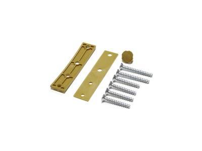 Петля дверная AT23 для дверей массой до 80 кг с высотой наплава 16.5-20 (24.5) мм цвет Золото F3 Изображение 2