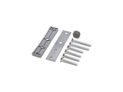 Петля дверная AT27 для дверей массой до 120 кг с высотой наплава 16.5-20 (24.5) мм цвет Титан F9 Изображение 2