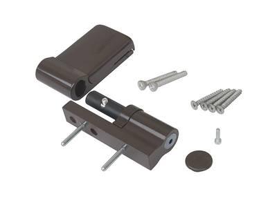 Петля дверная AT DHV, наплав 15-20 мм, для дверей массой до 120 кг, коричневый Изображение