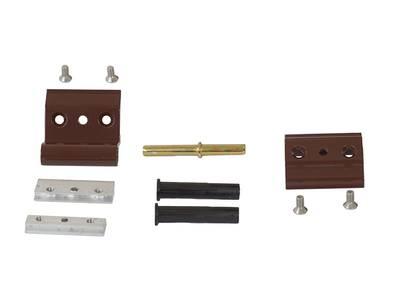 Петля дверная, коричневая, RAL8017 Изображение 2