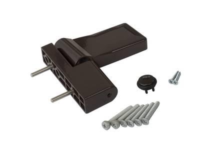 Петля дверная Elementis серия IQ-Plus коричневая 19-22 мм Изображение 3