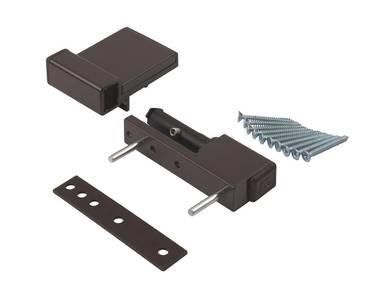 Петля дверная Elementis Compact, на 80кг., коричневый Изображение