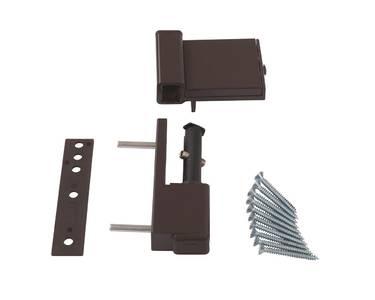 Петля дверная Elementis Compact, на 80кг., коричневый Изображение 2