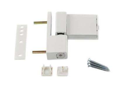 Петля дверная Elementis Compact, белая Изображение