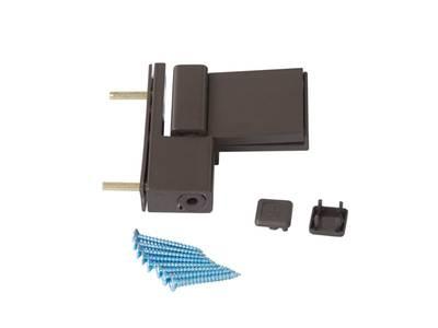 Петля дверная Elementis Compact, коричневая Изображение