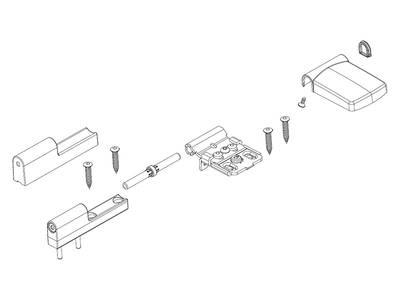 Петля дверная Maco Pro-Door T100P RH18 (3 шт, белый) Изображение 2