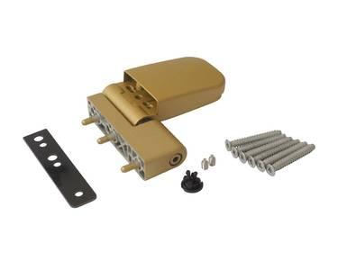 Петля дверная Maxbar 105NN, 16,5-19 мм, золото матовое Изображение