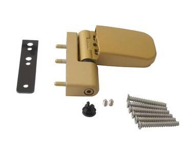 Петля дверная Maxbar 105NN, 16,5-19 мм, золото матовое Изображение 2