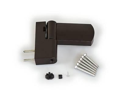 Петля дверная Maxbar HTB PS 27 14-17.5/105-42 (коричневый) Изображение