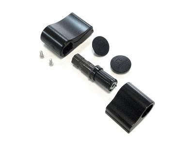Петля дверная 2-х секционная Albrio (М/О=61 мм, без креплений, черная) Изображение