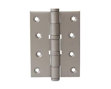 Петля карточная, универсальная 101х76х3 мм для  дверей до 65 кг.,никель матовый, Изображение
