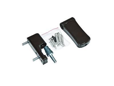Петля регулируемая дверная VHS 3-D алюминий 105 мм 8019 Изображение 2