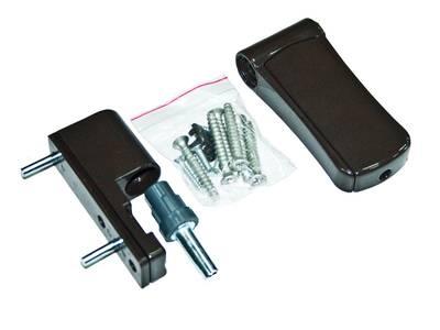 Петля регулируемая дверная VHS 3-D цинк 105 мм 8019 Изображение
