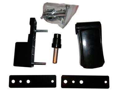 Петля регулируемая дверная VHS 3-D цинк 90 мм 8019 Изображение