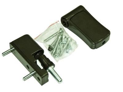Петля регулируемая дверная VHS 3-D цинк 90 мм 8019 Изображение 2