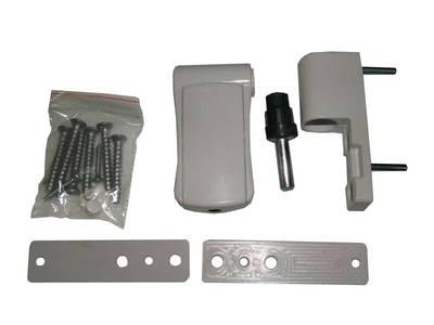 Петля регулируемая дверная VHS 3-D цинк 90 мм 9016 Изображение 2