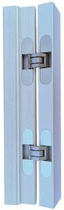 Петля скрытая универсальная Otlav Invisacta 3D (120x30 мм, 60 кг, серебро матовое)) Изображение 7