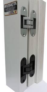 Скрытая петля универсальная нерегул. OTLAV INVISACTA 90x30 мм серебро матовое Изображение 5