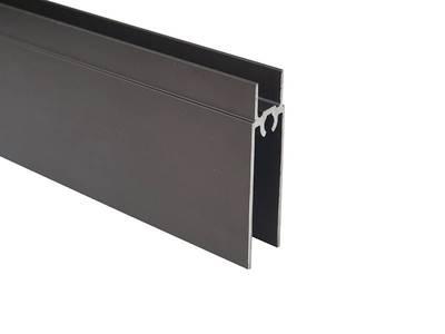 Планка нижняя, алюминий, янтарно-коричневый, 5800 мм FIRMAX Изображение