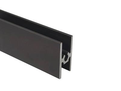 FIRMAX Планка средняя под крепеж, алюминий, коньяк, 5800 мм Изображение