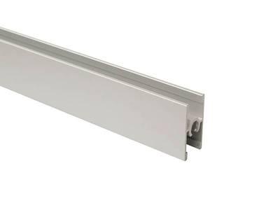 Планка средняя под крепеж, алюминий, L=5800 мм, серебро. Изображение