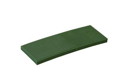 Пластина рихтовочная Bistrong 100x30x5, зеленая Изображение