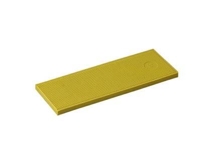 Пластина рихтовочная Bistrong 100x34x4, желтая Изображение