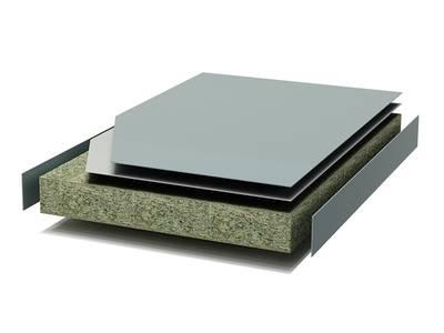 Кухонная столешница FENIX черный бархат, R2, ABS кромка, 4200*39*600 мм Изображение 2
