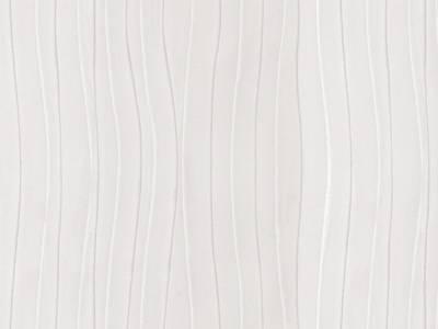 Плита МДФ AGT 1220*8*2800 мм, односторонняя глянец горизонтальный белая волна 664 Изображение