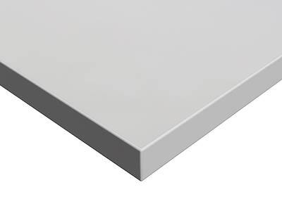 МДФ плита Luxe by Alvic (серый жемчуг (Gris Perla) глянец, 1220x18x2750 мм) Изображение