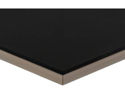МДФ плита Luxe by Alvic (чёрный (Negro) глянец, 1220x18x2750 мм) Изображение