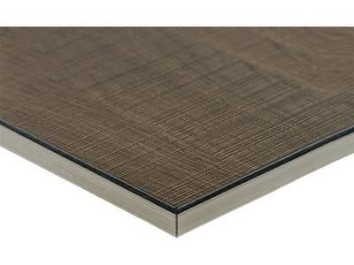 МДФ плита Luxe by Alvic (дуб фраппе (Roble Frappe) глянец, 1220x18x2750 мм) Изображение